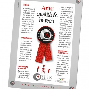 KÜNZI presenta Artis. Milano, 13-15 settembre.