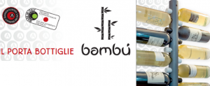Bottiglie come foglie di bambù: il nostro nuovo portabottiglie.